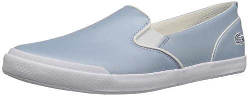 Fashion Lacoste 1 Women's Blue 317 Boat Shoe Lancelle 8qX8x6rw