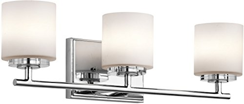 Kichler 45502CH O Hara Bath 3-Light Halogen, Chrome
