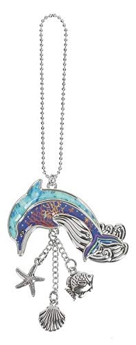 Ganz Dolphin Car Charm Made of Zinc with Seashell Charms Dangles 7