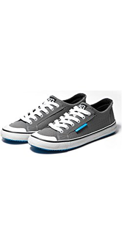 Zhik Zkgs Amphibious Shoes Grey Cyan - Unisex. Breathable - High Grip Rubber ZK Sole - Antibacterial Treated Inner