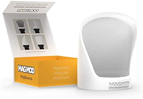 MagMod MagBounce Directional Flash Modifier for Even Diffused Light