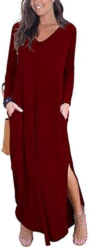 GRECERELLE Womens Casual Pocket Dresses