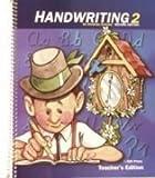 Handwriting 2 for Christian Schools, Teacher