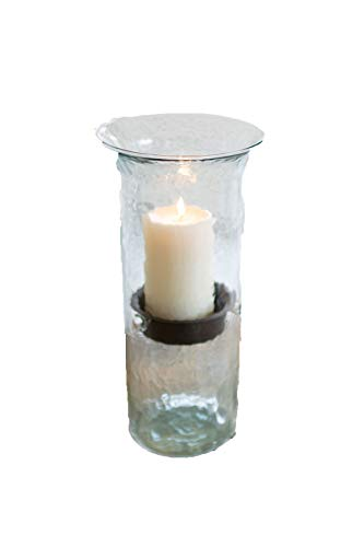Kalalou Large Mini Glass Candle Cylinder, One Size, -