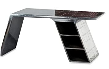 Kasandria® Flugzeug Schreibtisch | Industrieller Schreibtisch | Aircraft