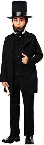 Political Figure Lincoln Jackson Douglass Suit Historical Costume
