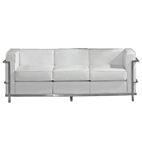 Le Corbusier LC2 Sofa (White)
