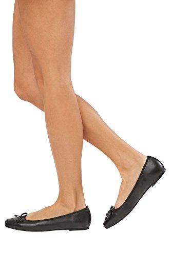 Ballerines Ultra Femme Noir Next 1 Confortables Cuir nxAnw4