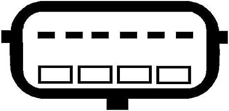 Hella 8et 009 142 131 Luftmassenmesser Rohrstutzen Auto