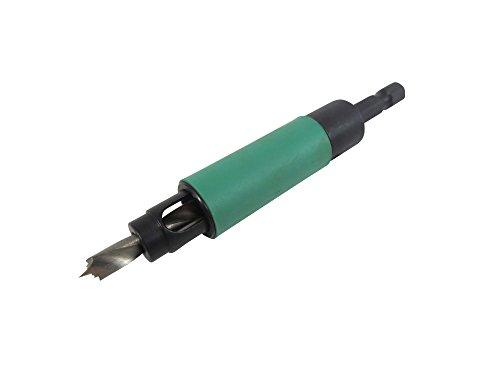 - Taytools 203606 5 mm Shelf Pin Jig Drill Bit Spring Loaded High Speed Steel Brad Point Bit
