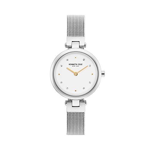 Kenneth Cole New York Women's 'Classic' Quartz Stainless Steel Casual Watch, Color:Silver-Toned (Model: KC50511004