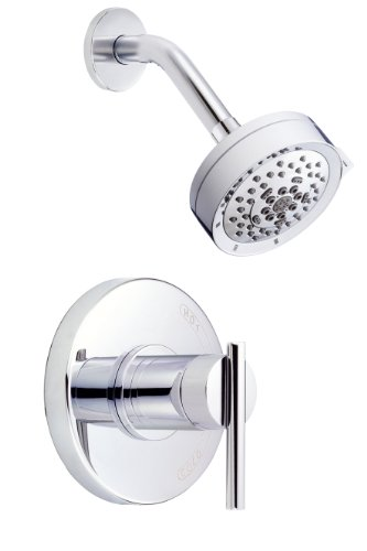 Danze D510558T Parma Single Handle Shower Trim Kit, 2.5 GPM, Valve Not Included, Chrome