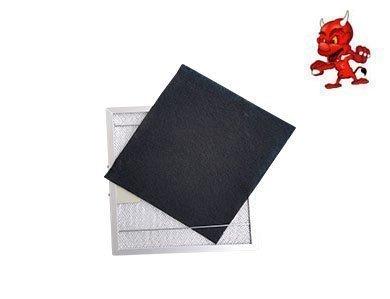 1 Set Aktivkohlematten Kohlematten Filtermatten Aktivkohlefilter Filter Kohlefilter in Premium Qualität passend für Dunstabzugshaube Abzugshaube PKM UBH 5000H Maschinen-Teufel