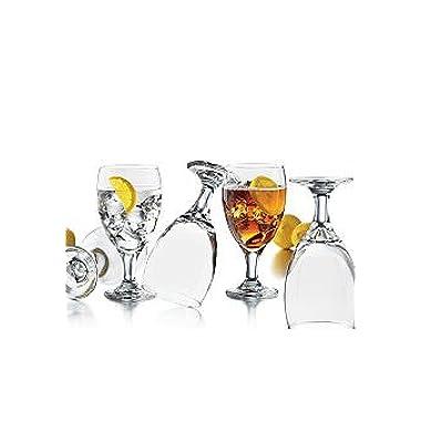 Libbey Catawba Footed Iced Tea Set (Set of 8)