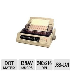 Oki MICROLINE 321 Turbo/n Dot Matrix Printer (62415501) by OKI (Image #1)