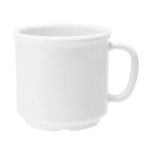 G.E.T. Diamond White 12 Oz Melamine Coffee/Soup ()