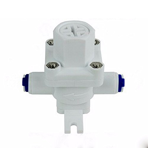 ATWFS 1/4 Pressure Regulator RO Water Purifier Parts Water Pressure Switch 1/4'' Connection Regulator Valve Reducing Pressure Valve