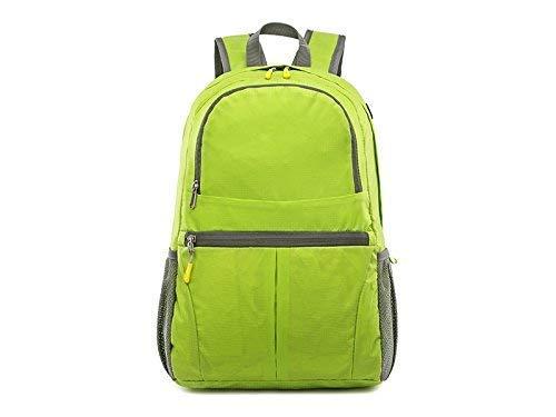 969a5b6d3c Outdoor borse, esterno esterno esterno e interno in nylon impermeabile  pieghevole escursionismo zaino da viaggio (Fruit verde) 982376
