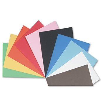 Pacon® Tru-Ray® Construction Paper PAPER,CONST,18X24,AST (Pack of10)