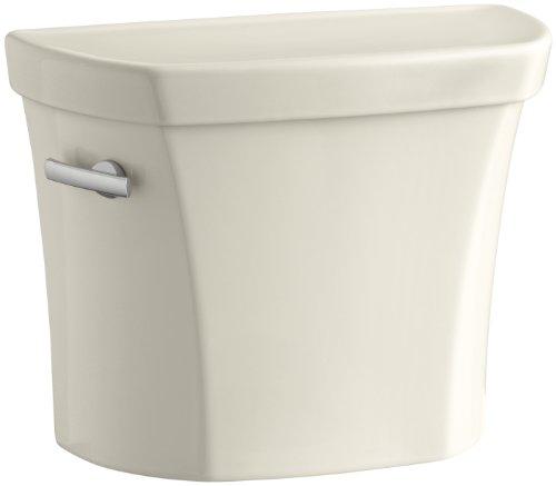 KOHLER Wellworth 1.28 GPF Single Flush Toilet Tank Only in Almond