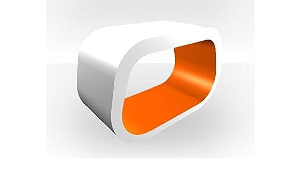Zespoke Soporte Exterior Cuadrado para televisor, Color Blanco: Amazon.es: Hogar