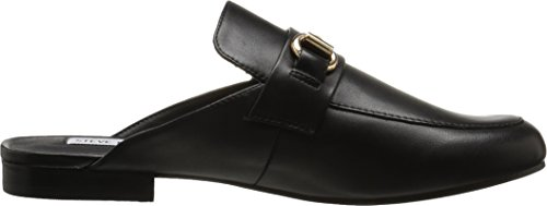 Steve Madden Women's Kandi Slip-on Loafer Black Leather outlet store sale online cheap sale top quality 65S7Ur