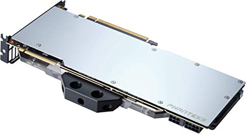 Phanteks RTX 2080Ti GPU Founder Edition Back Plate (PH-GB2080TiFEBP_CR01), Aluminum Cover, Mirror Chrome
