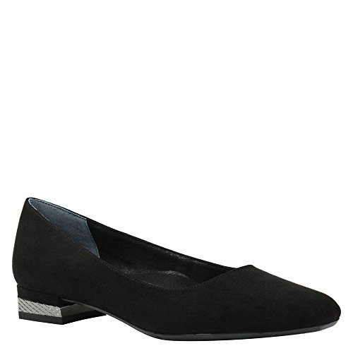 Pump Suede Women's J Black Renee Eleadora nt7x0WWPq