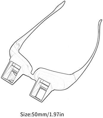Increíble Lazy Periscope Creativo Lectura Horizontal Televisor Sentado Gafas en la Cama Recostarse Cama Prisma Espectáculos Las Gafas perezosas ToGames-ES: Amazon.es: Electrónica