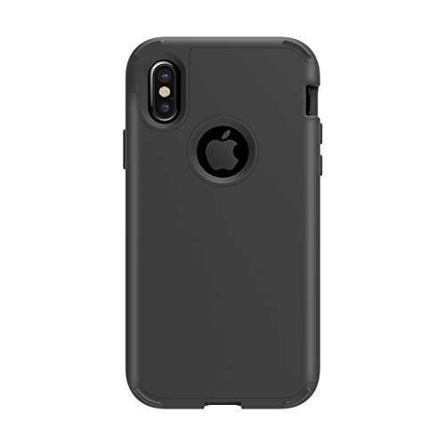 Case for iPhone X,Jessica Shockproof Scratch-Resistant Hybrid Defender Heavy Duty Protection PC and Silicone feature Full-body Rugged Protective Case for for iPhone X 5.8 Inch 2017 -