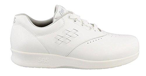 SAS Women's, Freetime Lace up Sneaker (8.5 C/D US, White)