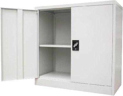 Assembled Half Height Cupboard  sc 1 st  Amazon UK & Metal Cabinets: Amazon.co.uk