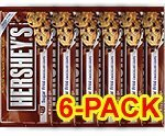 Hershey's Sugar Free Baking Chips, 8-Ounce Bag (Pack of 6)