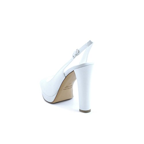 Albano Para Mujer Zapatos Vestir De Blanco Bianco STr0ASn