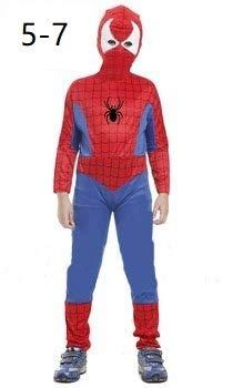 Krazy Toys Disfraz Spiderman Niño (5-7 años): Amazon.es ...