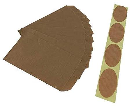 100 sobres bolsas de papel kraft sin asas con etiqueta de ...