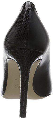 HUGO Ballet 10191387 01, Sandali Punta Aperta Donna, Nero (Black 001), EU