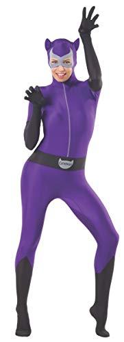 Catwoman Costume Purple (Rubie's Women's Dc Comics Superhero Style Catwoman Bodysuit, Multicolor,)