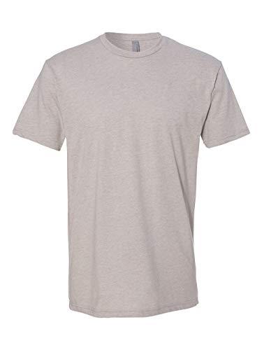 6210 Mens Premium CVC Crew - Silk, Large (Silk T-shirt Shorts)