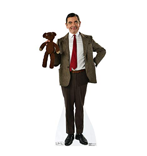 Advanced Graphics Mr. Bean & Teddy Life Size Cardboard Cutout Standup