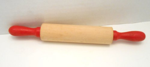 Child's Red Handled Rolling Pin 7.5