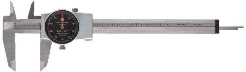 Sharpe Dial Caliper (Brown & Sharpe 599-579-5 Dial Caliper, Stainless Steel, Black Face, 0-6