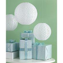 Martha Stewart Crafts Lanterns, White Eyelet