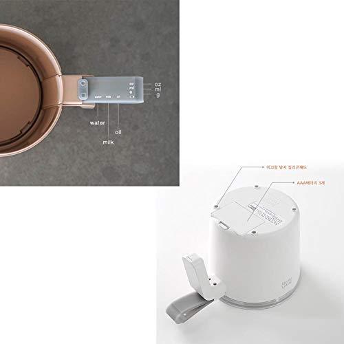 Peter's Peter's Peter's Pantry Smart Messbecher, minimales Design, LED-Digitalwaage für Lebensmittel, Wasser, Milch, Öl beige B07MPRZXLB Messbecher & Mae fb9e8a