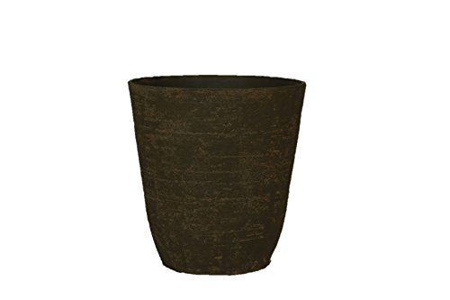 Stone Light Antique AT Series Cast Stone Planter (Pack of 2), 13.5 by 15