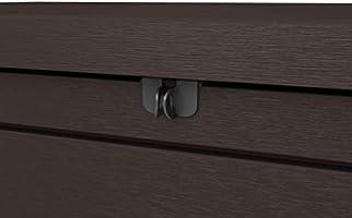 Keter - Arcón exterior Ontario, Capacidad 870 litros, Color marrón ...