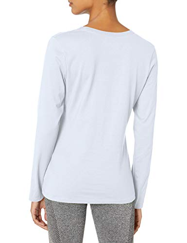 Hanes Women's Long Sleeve Tee, White, X-Large