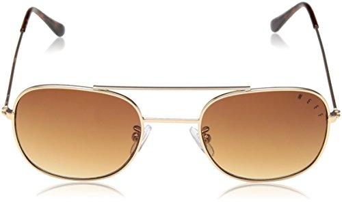 Baron Gold White Shades Unisex Neff Sunglasses vqaTPw4