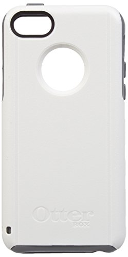 OtterBox Commuter Series Case for iPhone 5c - Retail Packaging - Gray/White (5c Iphone Case Crystal)