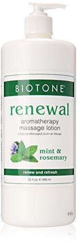 Biotone Aromatherapy Massage Renewal Lotion, 32 Ounce